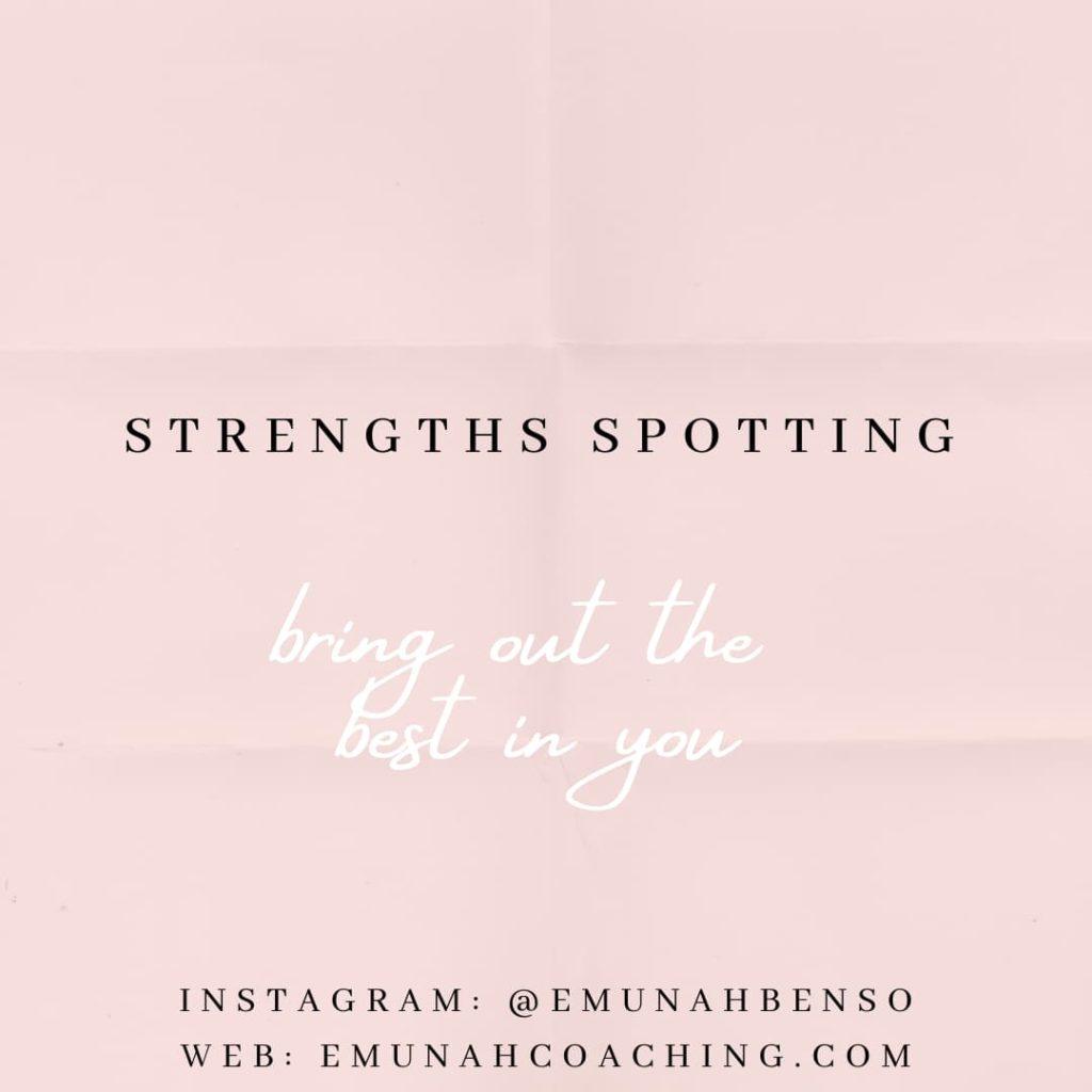 Strengths Spotting Emunah